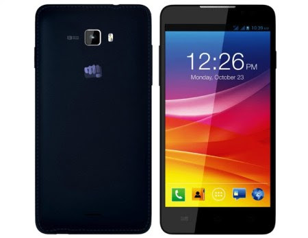 Micromax Canvas Nitro - Best Android Phones under 10000 Rs