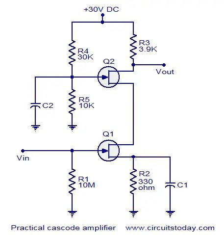 FET cascode amplifier