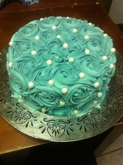 Rosette cake / floral cake   My Cakes   Pinterest   Cakes