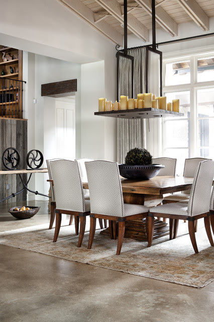 Hill Country Modern - mediterranean - dining room - austin - by ...
