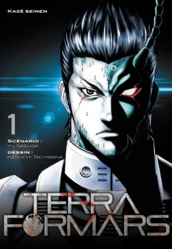 Couverture Terra Formars, tome 01