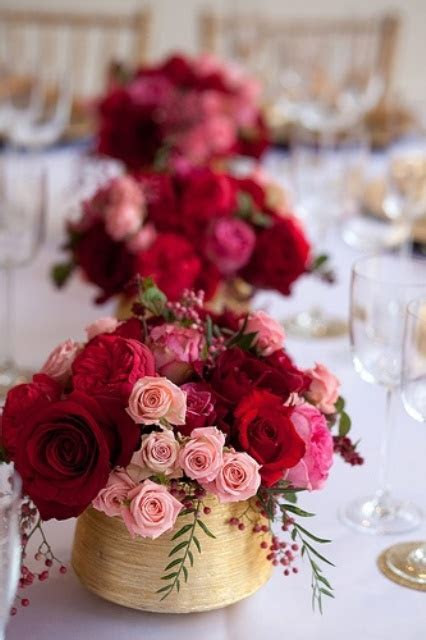 33 Inspiring Valentine?s Day Wedding Centerpieces