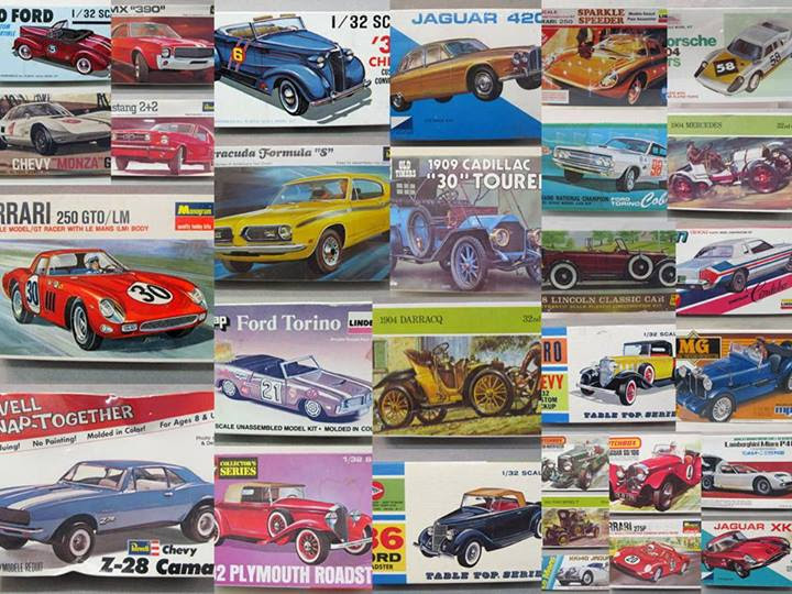 MODEL CARS KITS  vumandas kendes