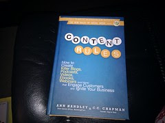 What I am reading now - content rules