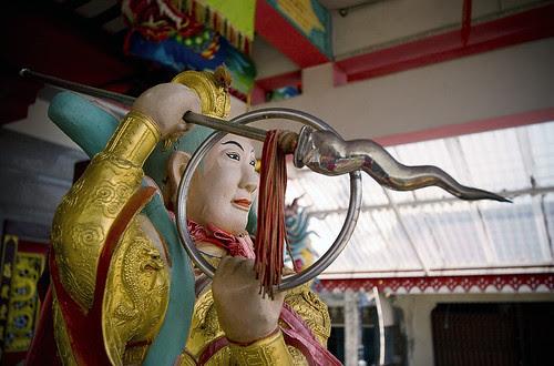 Inside Sapam Shrine