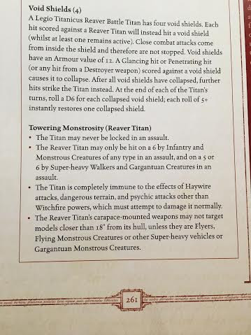 40k 3 Huge New Titan Rules We All Missed Bell Of Lost Souls