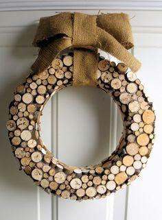 Birch Bark & Log Crafts on Pinterest