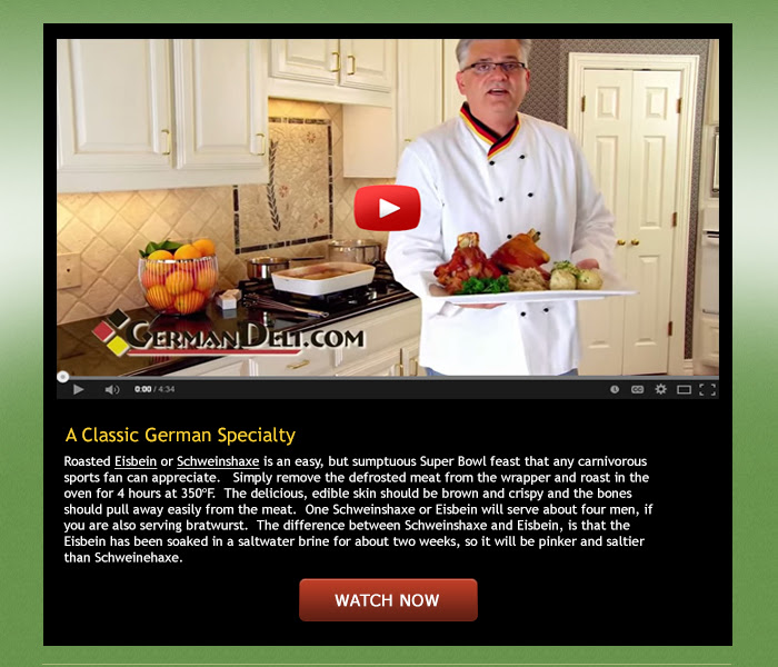 A Classic German Specialty - watch video now