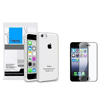 GET Insten 1387433 2-Piece iPhone Case Bundle For Apple iPhone 5/5S/5C NOW