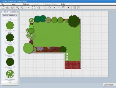 Landscaping garden designs online free software for Garden design software