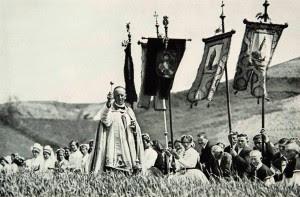 Bênção dos campos, na Hungria de 1929