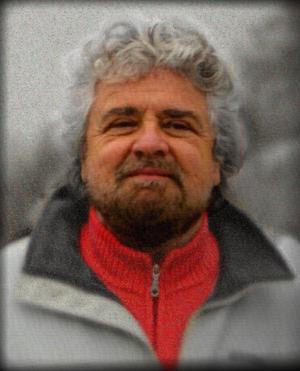 English: Beppe Grillo in Viareggio Italiano: B...