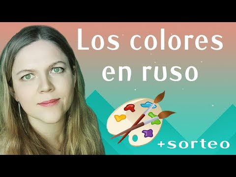 Los colores en ruso