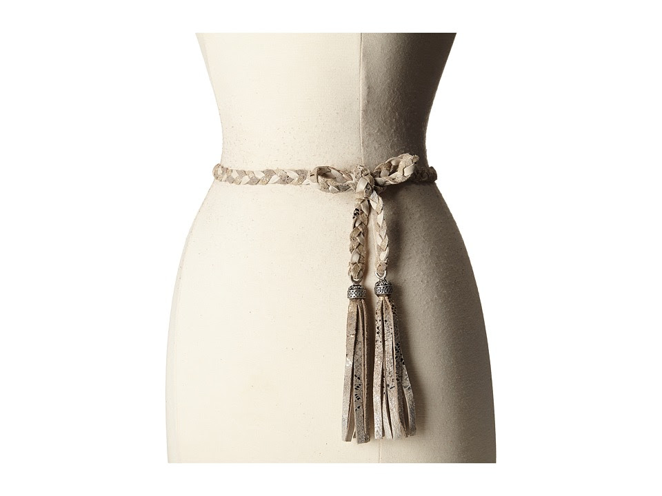Leatherock - 1690 (Nevada Cream\/Vintage Platinum) Women's Belts