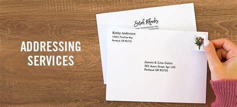 Return Address Printing   Recipient Addressing   Simply to