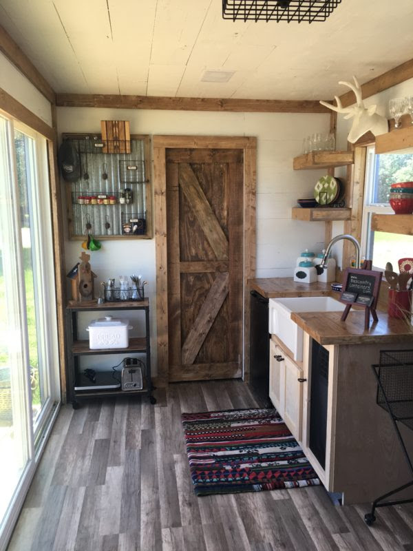 Rustic Retreat Shipping Container Tiny House 005 600x800