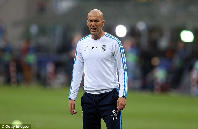 Zidane is in his first season as manager of Real and wants to end it on high note on Saturday evening in Milan