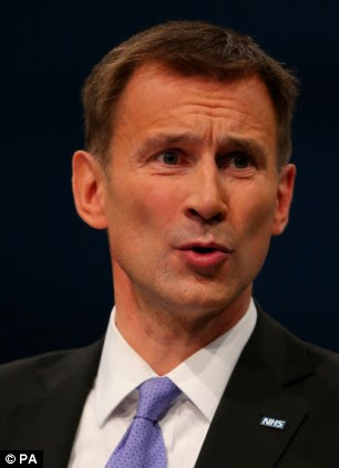Health Secretary Jeremy Hunt will warn a million elderly are left forgotten and isolated because friends and relatives fail to visit them