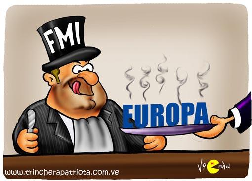 El FMI servido en bandeja de plata...