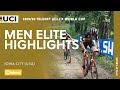 Vídeo resumen de la Copa del Mundo masculina de ciclocross de Iowa 2019