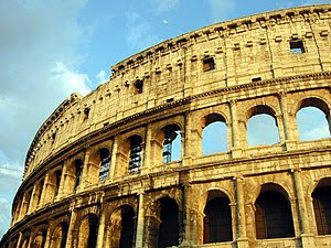 Though in ruins, the Flavian Amphitheatre, now...