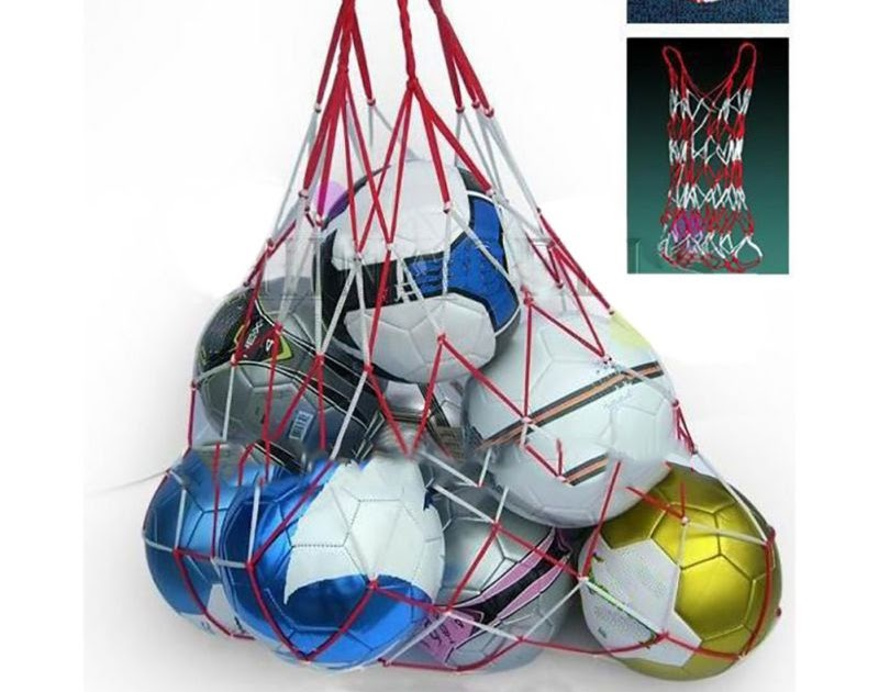 Best Sports Soccer Carry Bag Portable Sports Nylon Rope