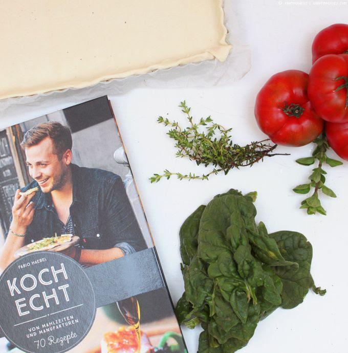 Kochecht, Kochbuch, Fabio Häbel, Tomatentarte, Sommertarte