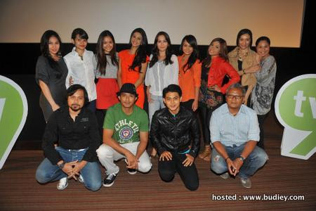 Pelakon, pengarah, penerbit untuk Skrin Di 9 bulan November