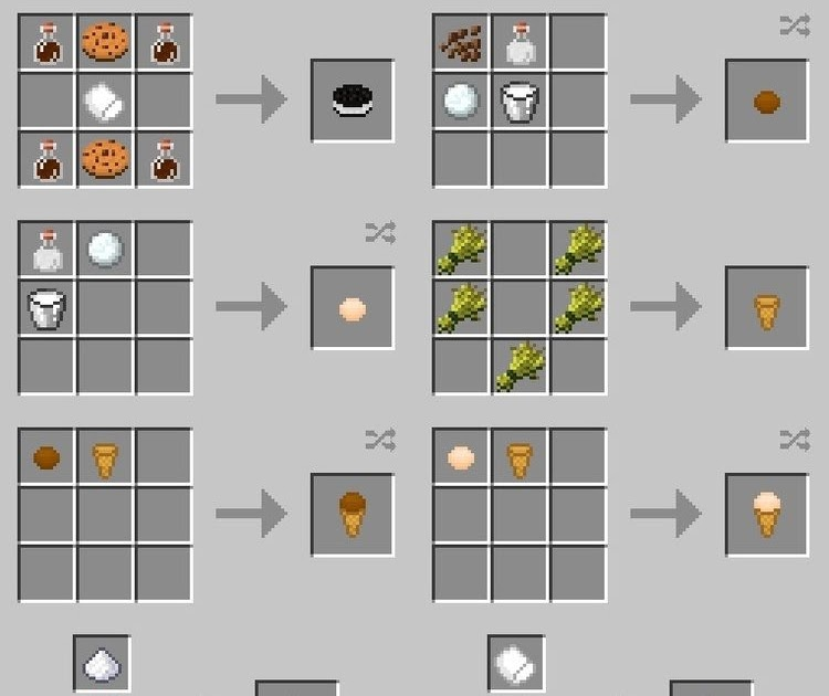 Food Recipes Xl Food Mod Add More Foods For Minecraft 1 11 1 10