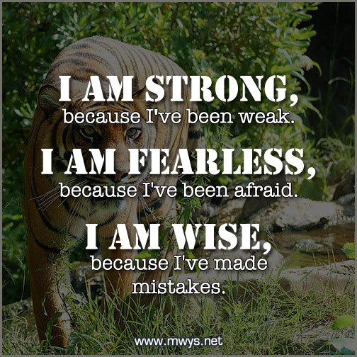 I Am Strong Because Ive Been Weak ø Eminently Quotable Quotes