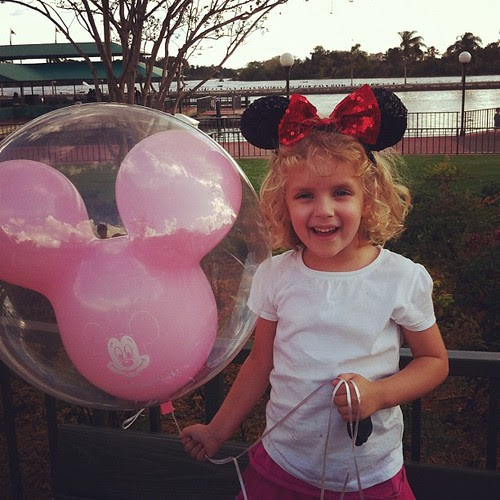 Leaving Disney World-Kylie's 1st trip. More photos shared tomorrow.
