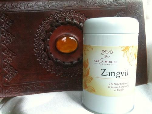 Zangvil Tea Tin + Journal
