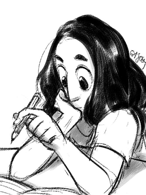 kippermydog said: ✎ Connie from Steven Universe Answer: precious cinnamon bun~