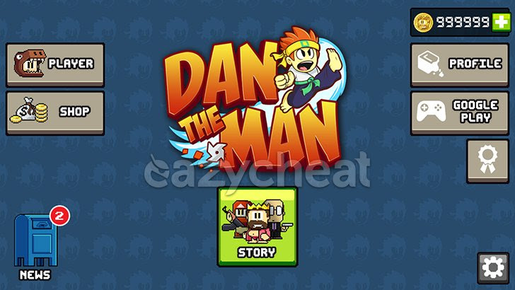 Dan The Man v1.0.6 Cheats