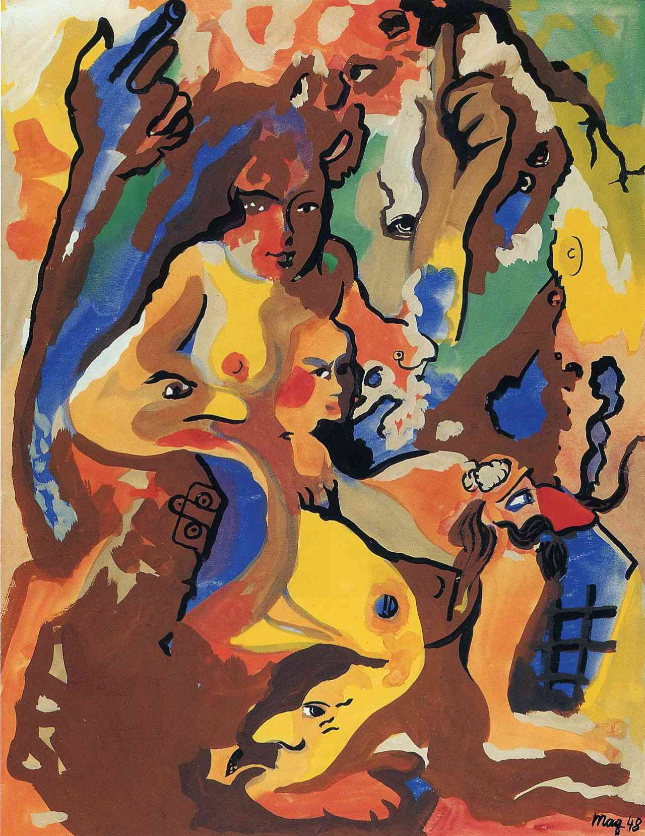 Titania, 1948 Rene Magritte