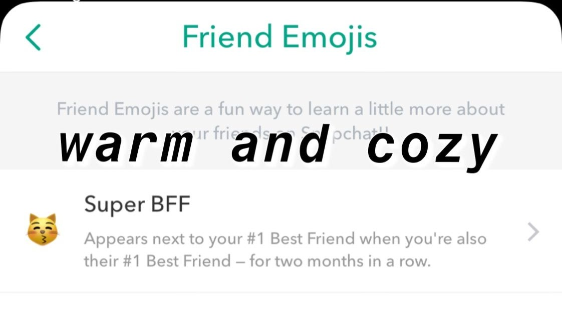 Aesthetic Cute Snapchat Friend Emojis If you'd prefer to use a different emoji, you. aesthetic cute snapchat friend emojis