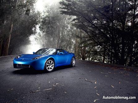 Electric Car Blogging Tesla Roadster Wallpaper
