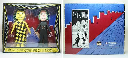 Amy & Jordan figures
