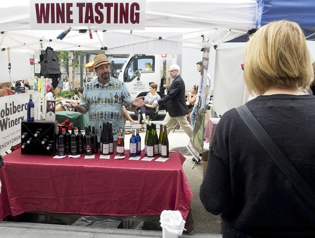 wine tasting, nyc