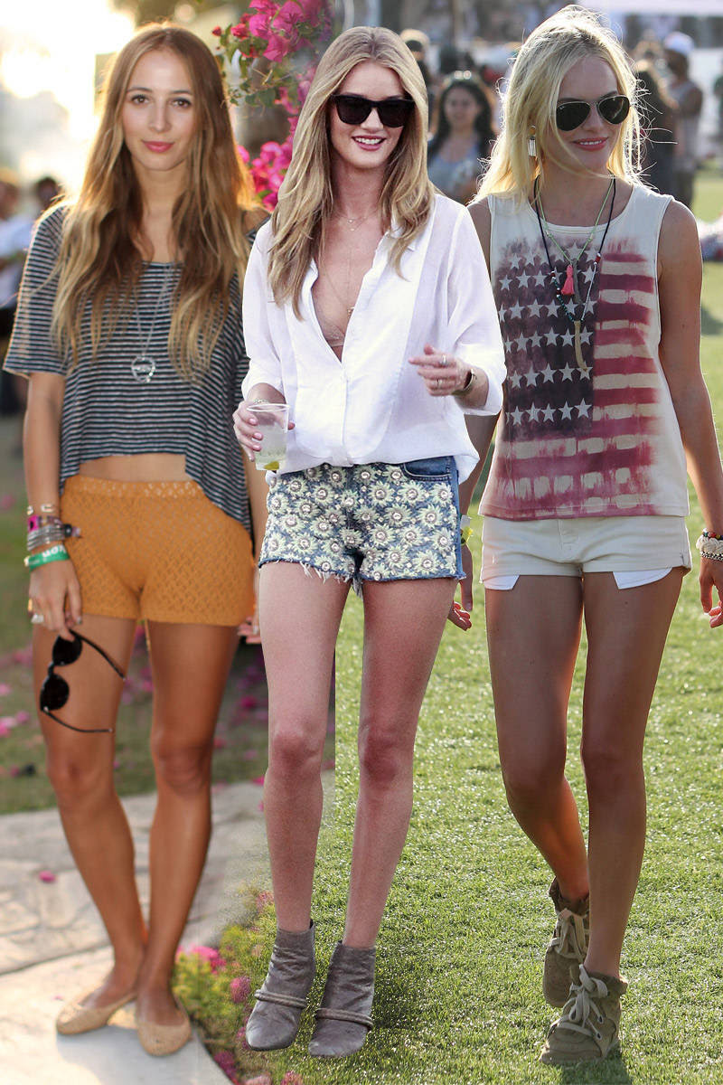 music festival fashion  celebrity style at music festivals