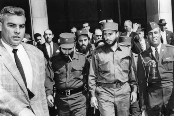 Fidel llega a Washington DC, el 15 de abril de 1959. Foto: Estudios Revolución