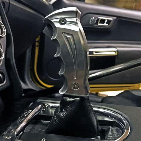 mustang gt upr billet automatic  shifter handle
