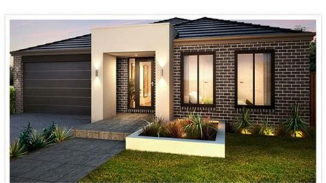 single story house designs simple modern house plan