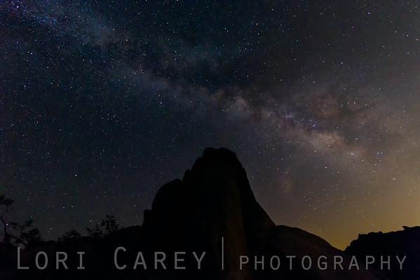 Milky Way galaxy over Joshua Tree NP