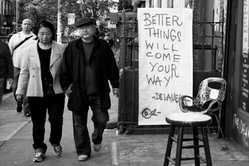 Better things, East Village
