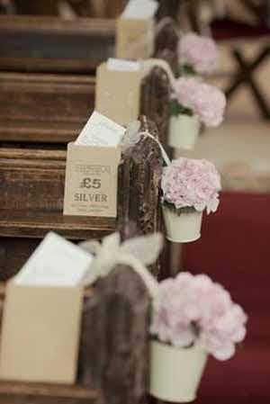 Church Pew End Ideas Aisle Decoration Ideas