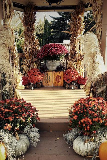 Fall wedding, Fall and Corn stalks on Pinterest