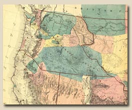 Detail of Warren map