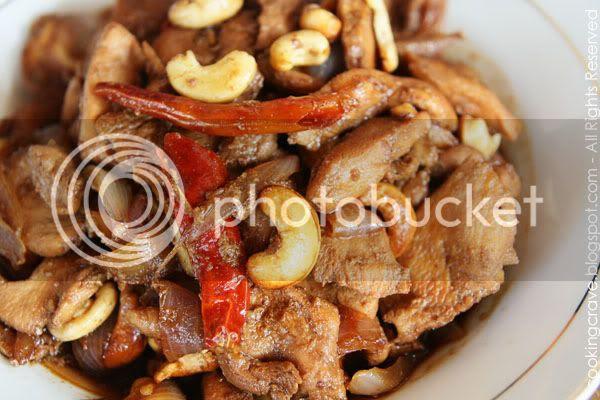 Stir Fried Honey Chicken with Cashew Nuts1