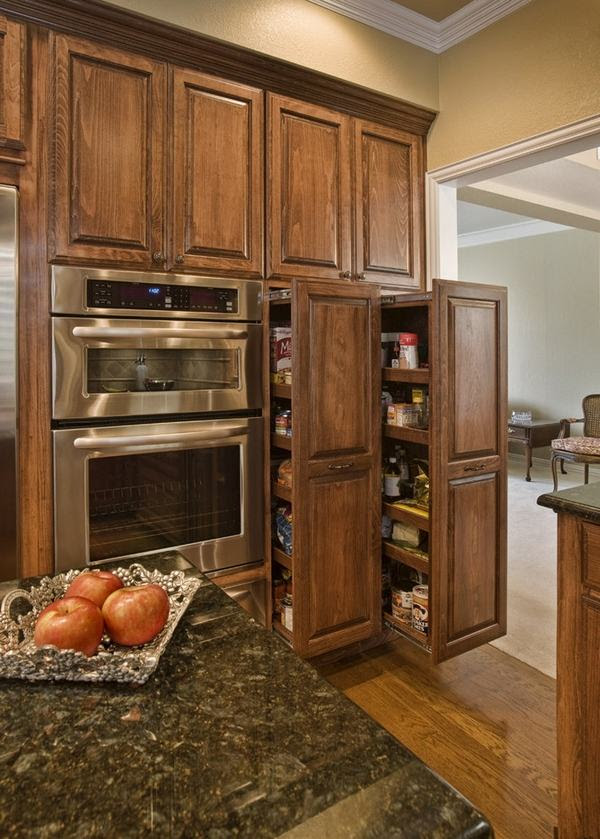 Kitchen Pantry Cabinet Ideas Pull Out Cabinets Contemporary